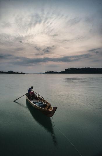 Boat In Sea