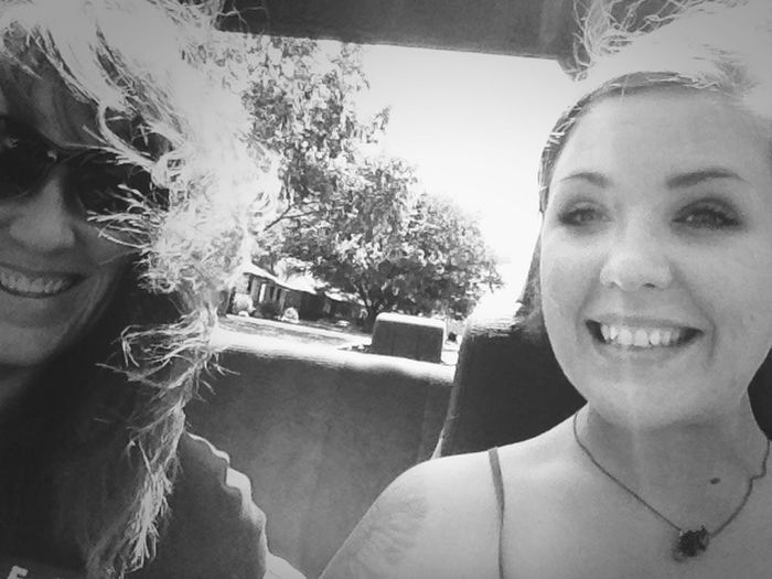 Snow cone bound with the top down! Life Is Good Stopping Time Mother Daughter Time Heartbeat Moments