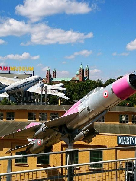 Speyer Technikmuseum Wolken Technikmuseum