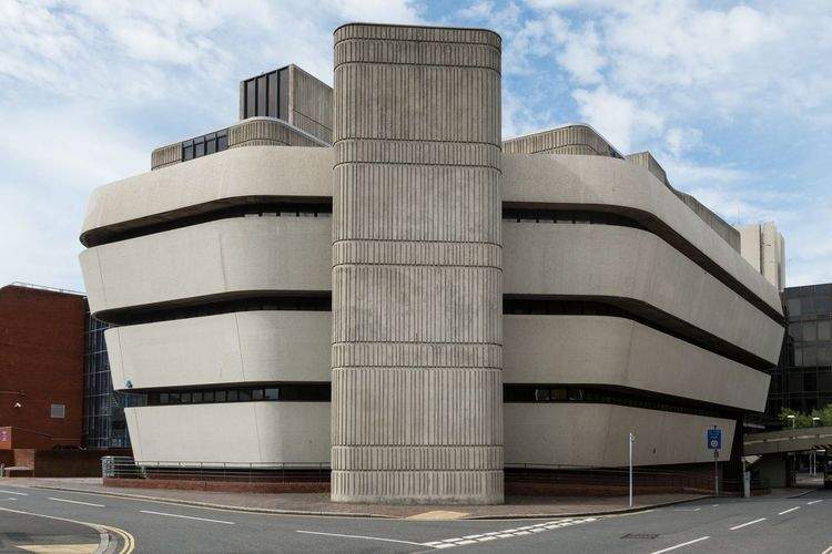 Portsmouth Library Architecture Architecture_collection Architecturelovers Brutalist Architecture Brutalarchitecture Library Concrete Portsmouth