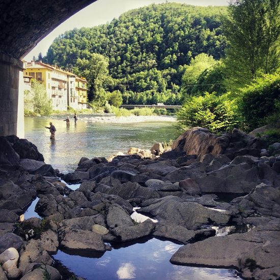 River Italy Flyfishing  Rivers Fiume Sesia Nature Varallo