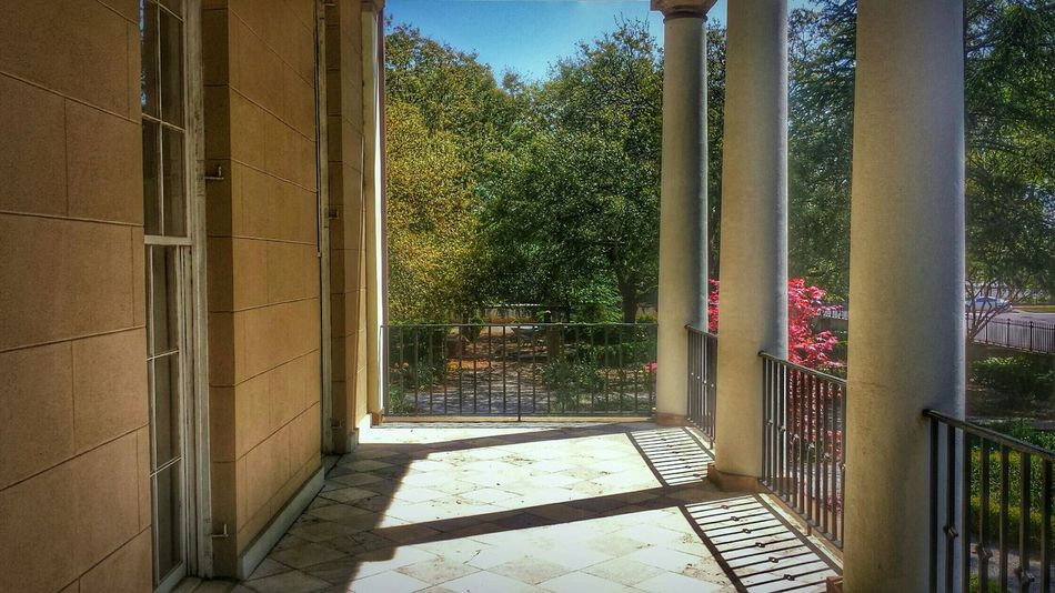 Overlooking Gardens -- Looking To The Other Side Light And Shadow Architecture Building Landscape HDR Trees Nature Landscape_Collection The Architect - 2015 EyeEm Awards