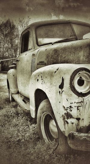 Old Truck Art On Wheels Restoration In Progress Discovering Great Works My Perspective
