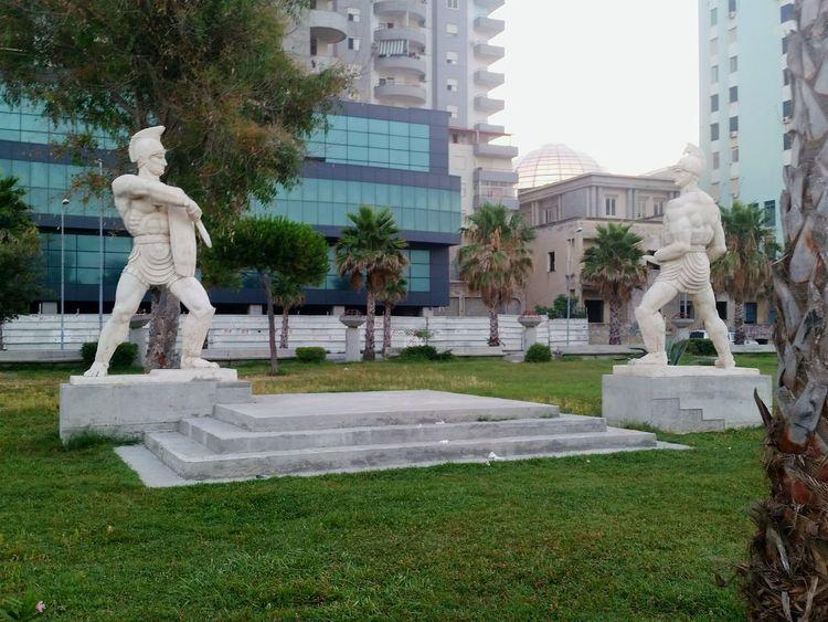 Historical Monuments Durres Albania PhonePhotography