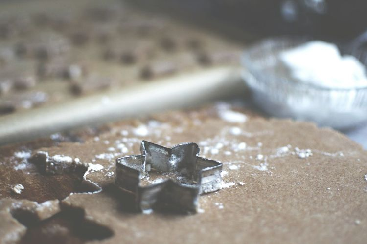 Close-Up Of Pastry Cutter