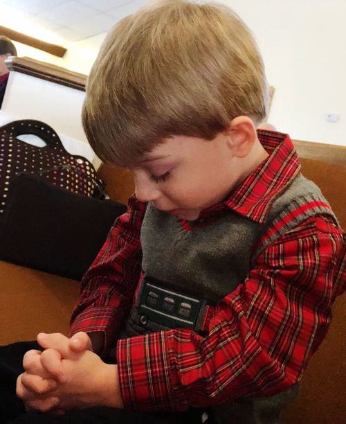 Little prayers, big heart Love Life ❤ Inspiration Is Every Where Praying Heart Praying Hands Boys Childhood One Person Real People Indoors  Elementary Age Casual Clothing Sitting Blond Hair