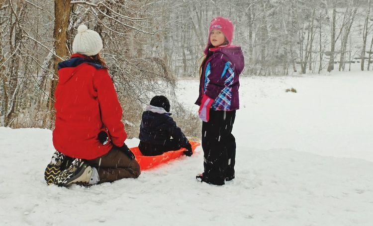 Sledding Everyday Joy Winter Winter Wonderland ❄ Cleveland Metroparks