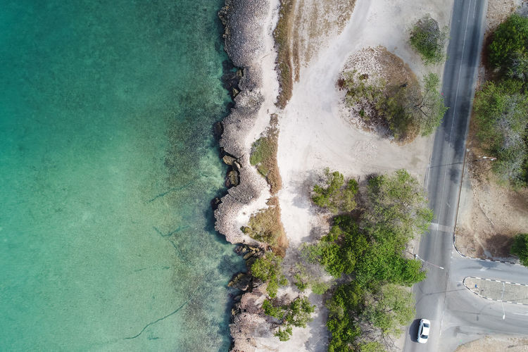 Drone  Drone Shot Beach Beauty In Nature Day Dji Drone Photography Dronephotography Droneshot High Angle View Nature No People Outdoors Scenics Sea Tree Water
