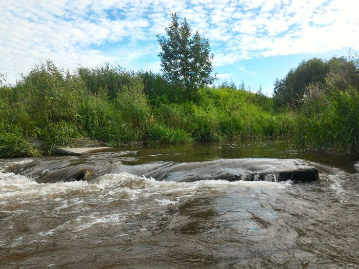 Outdoor Photography Nature Photography River View Running Water River And Trees Blue Sky And Clouds Russian Nature Russia Countryside River Blue Sky Green Grass Nature And Sky Exploring Surroundings Nature Scenes