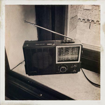 Radio Ga-ga Analogic Fashioned Hipstamatic Old Radio Vintage Style