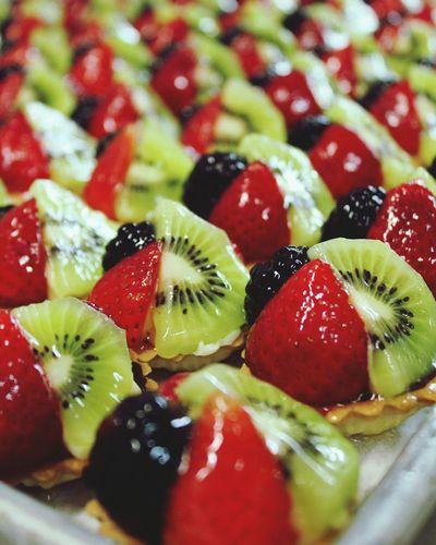 Fruit Close-up Tart - Dessert Dessert Kiwi - Fruit Sweet Food Food And Drink No People Food Freshness Tarts Strawberry