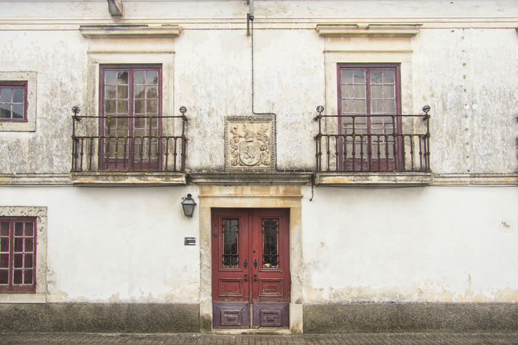 Architecture Azinhaga Building Exterior Built Structure Day Door House No People Olhao Outdoors Portugal