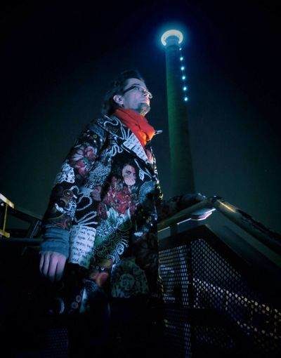 That's Me Nightphotography Manuel Gotzen Location: Landschaftspark Duisburg-Nord Foto: RUHRGESICHTER.de