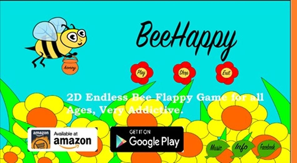 2D Games Amazon Bee Beehappy Game Google Play Kids Game Mobile Game Mobile Gaming Nature Games Video Games Videogaming