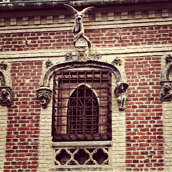Medieval Window Fortress Architecture