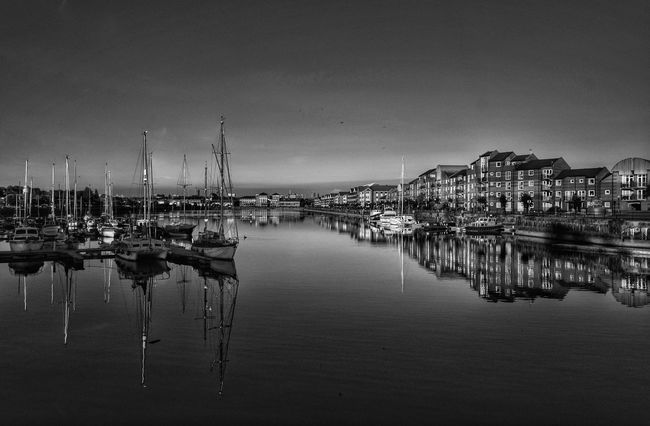 Preston Docks in black and white. Taking Photos Relaxing Beauty In Nature Malephotographerofthemonth Photography Is My Escape From Reality! Tranquil Scene Enjoying Life EyeEm Nature Lover Preston Preston Docks Dog Walking Tranquility Photo Editing Light And Shadow Black & White Blackandwhite