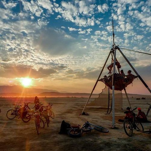 Looks like I'll be heading home this year after all!!! Burningman Playa Sopumped Needtogoonesieshopping