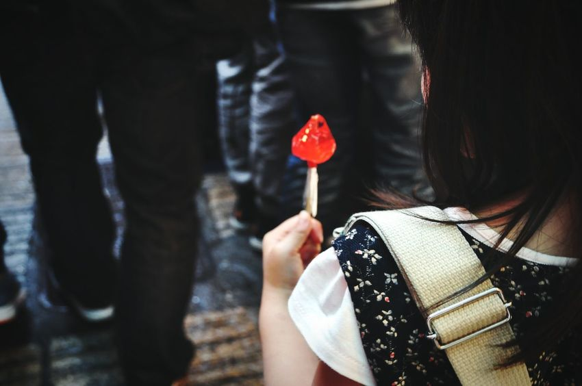 Close-up Candy Candy Time Red Strowberry Taiwan Street Child Kids OpenEdit Open Edit Snapshot