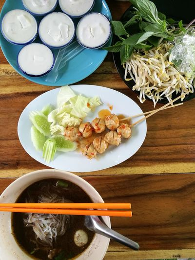 Food Thai Food Thai Noodle Style Thaistyle ThailandOnly Adapted To The City
