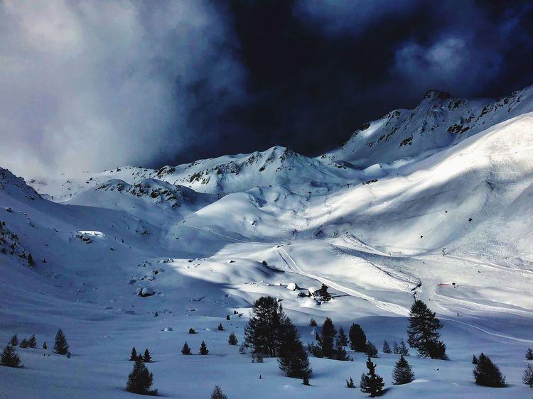 Swiss Alps Valais Valdanniviers Grimentz Zinal Snow Winter Mountain Nature Beauty In Nature Shades Of Winter The Great Outdoors - 2018 EyeEm Awards