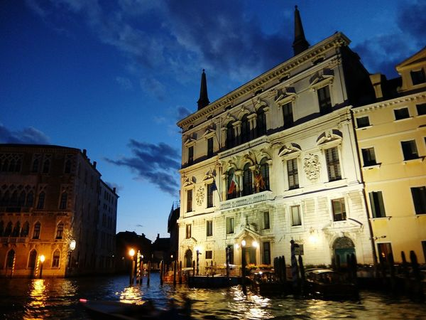 Venice, Italy Venezia Canal Grande Night Amazing View Amazing Architecture The Architect - 2015 EyeEm Awards Fujifilm XQ2 Fujifilm_xseries Fujifilm