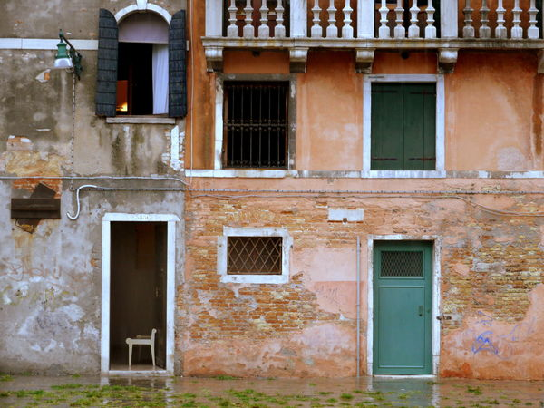 #City #Venice #italy #rain  #rainyday #wall Architecture Building Exterior Built Structure Day Door No People Outdoors Window