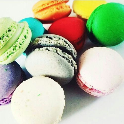 My love ❤ Myfood Mymacarons Macarons Lover Colorful Delicious ♡ Takenbyme Taken From Smartphone Camera Editbyme Oldpic Loveit♥ Eyeemvietnam EyeEm Gallery