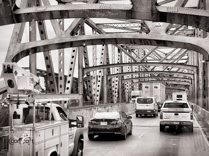 On Big River Crossing in Memphis, Tennessee Mississippi River Vehicles Brıdge Big River Crossing Memphis, TN Usa Travel IPhone 8 Transportation Mode Of Transportation Land Vehicle Motor Vehicle Car Architecture Built Structure Bridge Bridge - Man Made Structure Travel
