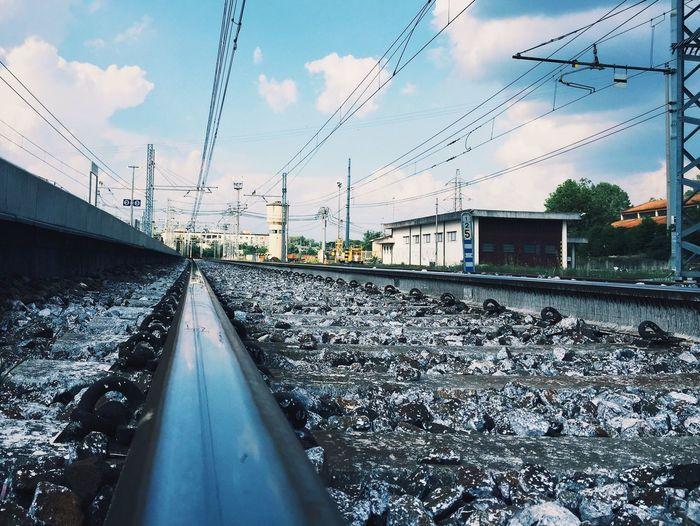 EyeEm Best Shots Railway Landscape Railroad