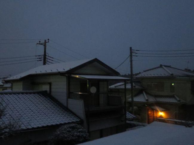 おはようございます。 Morning おはよう Canon S120 Snow 雪