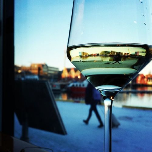 Dinning by the wharf Tromso Fiskekompaniet