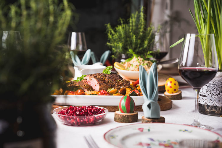 Dinner Drink Drinking Glass Eating Utensil Food Food And Drink Freshness Fruit Glass Healthy Eating Household Equipment Indoors  Kitchen Utensil Meal No People Plate Ready-to-eat Selective Focus Serving Size Still Life Table Temptation Capture Tomorrow Moments Of Happiness