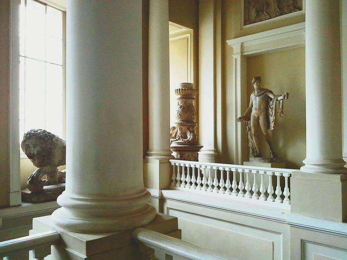 Visiting Museum Statue Academyofart Gorgeous Saint Petersburg