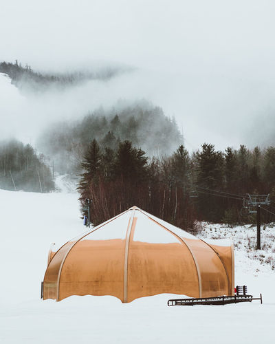 Après-ski Cold Cold Temperature Covering Fog Forest Mountains Mountains And Valleys New England  New Hampshire Pine Season  Ski Snow Weather White Winter