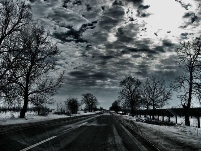 Eye4photography  Colours Of The Sky Travel Photography EyeEm Gallery Eye4details Sky_collection Sky And Clouds The Traveler - 2015 EyeEm Awards Highwayphotography Roadandscenery On The Road Again Roadscenes Roadtrip Darkness And Light Country Road Misterious