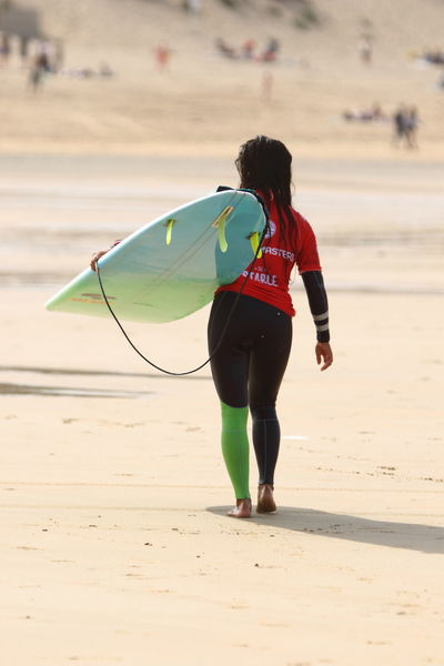 Adult Adults Only Beach Beauty Day Fistral Beach Fistral Beach Board Masters Full Length One Person One Woman Only One Young Woman Only Only Women Outdoors People Real People Rear View Sand Sport Surfer Dude Surfer Girl Surferphotos Surfers Surfers Paradise Surfing Young Adult