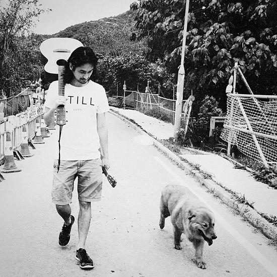 Open Edit Blackandwhite Monochrome Dog Hon'ne Magazine