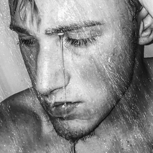 Wet Water Wet Shower Photoshoot