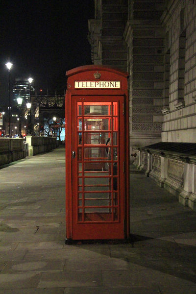 Communication Great Britain Illuminated Lights London London Lights Night No People Outdoors Rain Red Red Telephone Booth Red Telephone Box Telephone Booth Travel Travel Destinations United Kingdom