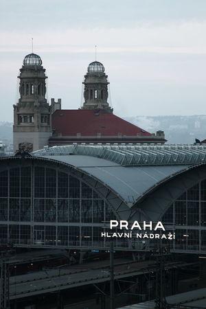 City Break Czech Czech Republic Praha Trip Architecture Building Exterior Built Structure City Day Dome No People Outdoors Platform Sky Train Station Train Station Platform
