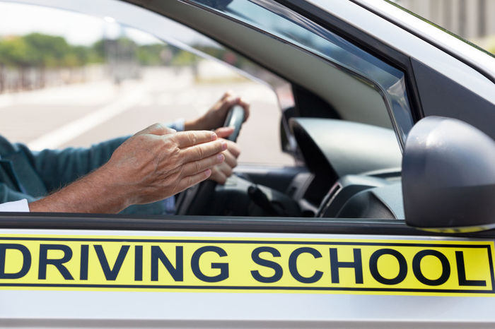 Driving school. Student driver. Learning to drive a car. Driver Teaching Car Class Course Driving Driving Car Driving Instructor Driving License Driving School Education Human Hand Learning To Drive Mode Of Transport People Steering Wheel Student Driver Test Transportation Vihicle