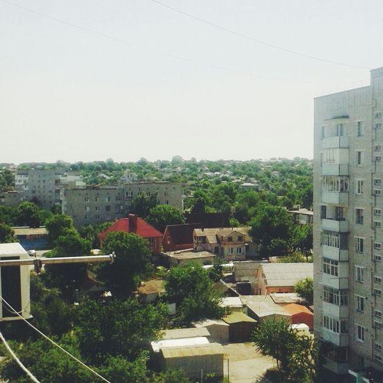 дома умань вид пейзаж крыши