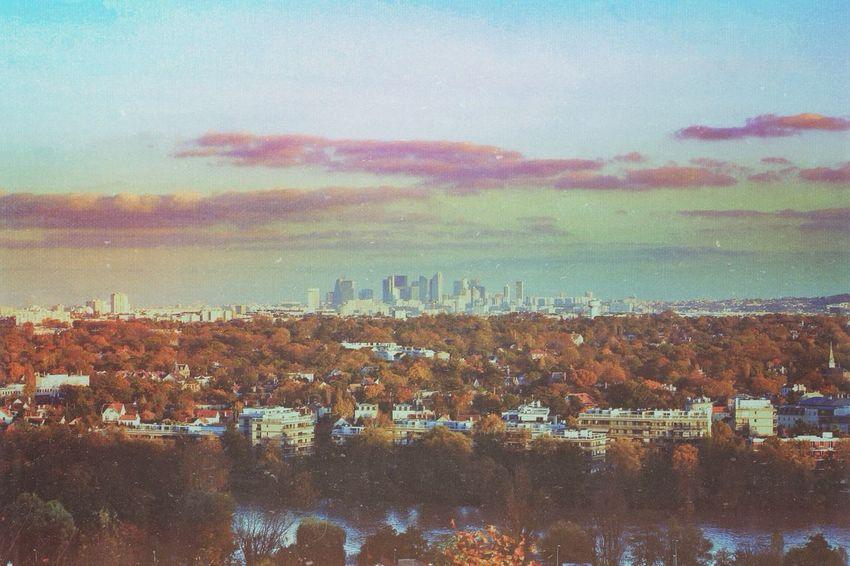 Amazing View Landscape City Paris