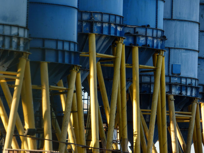 Close-Up Of Petrochemical Plant