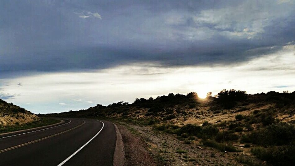 Old pic Photooftheday Throwbackphoto Newmexico Photoedit Sunset Randompicture Positivevibes Androidography