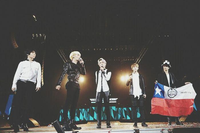 Shinee World ♥ CHILE SANTIAGO 6,4,2014