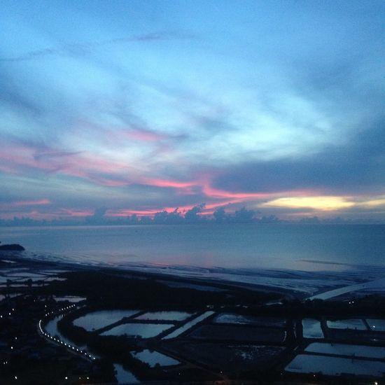 Sea And Sky Clouds