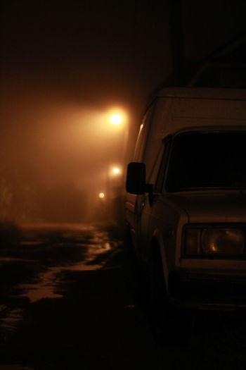 R Car Night Russia VSCO ижевск Dramatic Sky Headlight Illuminated No People Moon Outdoors Sky