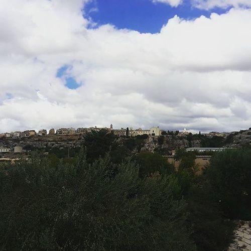 🎵 Paese Mio che stai sulla Collina 🎵 Ispica  Spaccaforno ciccibombi nuvole estate2015 estate country love ilmiopaese
