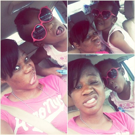 Cute pictures? ... Clearly we dont have time for that :P ! ... Me & Mini Me 웃♡웃 Big Sister & Little Sister Bond
